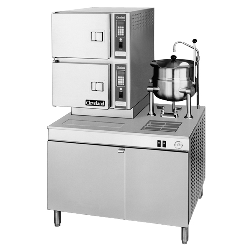 42CKEM24 Convection Steamer Classic Series Pressureless