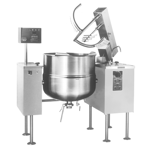 MKDL60T Kettle Mixer Steam Jacketed Floor